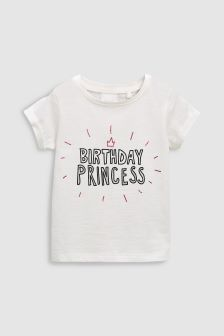 Birthday Princess T-Shirt (9mths-6yrs)