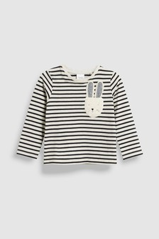 Stripe Bunny T-Shirt (3mths-6yrs)