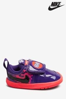 Nike Purple/Orange Pico 5 Infant Trainers