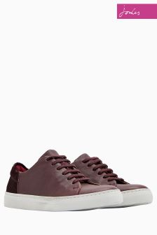Joules Burgundy Solena Trainer