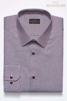 Signature Puppytooth Slim Fit Shirt