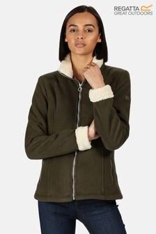 Regatta Green Brandall Full Zip Fleece