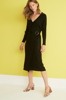 Batwing Jumper Dress