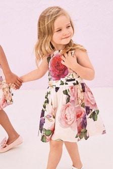 فستان طباعة (3 شهور -5 سنوات)