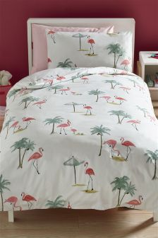 Flamingo Bed Set