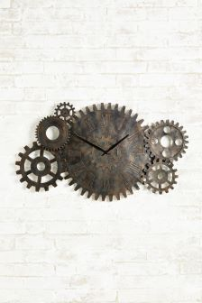 Cog Wall Clock