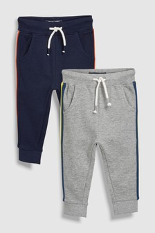 Side Stripe Joggers Two Pack (3mths-6yrs)