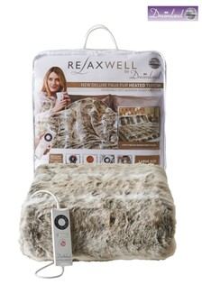 Dreamland Relaxwell Deluxe Faux Fur Throw