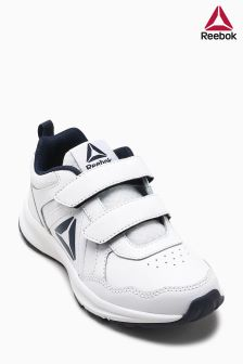Reebok Run White/Black Almotion Velcro