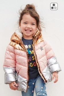 Colourblock Padded Jacket (3mths-6yrs)