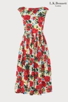 L.K.Bennett Pink Isse Dress