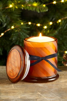 Gingerbread Lidded Jar Candle