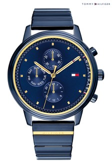 Tommy Hilfiger Blue Stainless Steel Watch