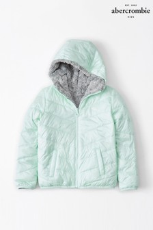 Abercrombie & Fitch Mint Padded Coat
