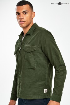 Pretty Green Clayton Cord Overshirt