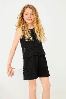 蕾絲連身褲 (3-16歲)