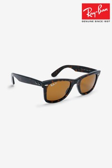 Ray-Ban® Brown Wayfarer Sunglasses