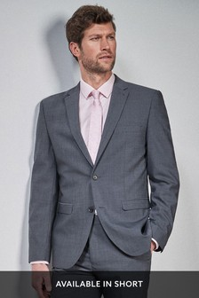 Wool Blend Stretch Suit