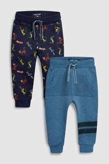 Digger All Over Print Joggers Two Pack (3mths-6yrs)