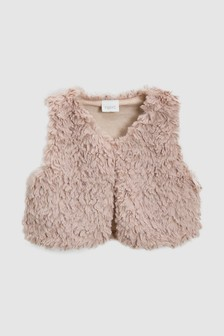 Faux Fur Gilet (3mths-6yrs)