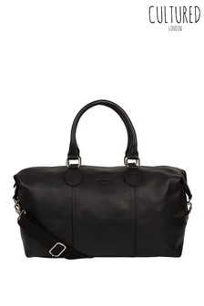 Cultured London Circuit Small Leather Holdall
