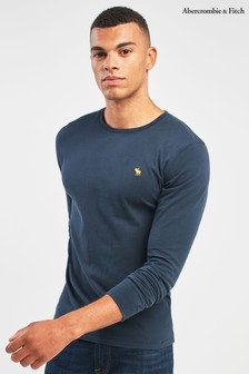 Abercrombie & Fitch Icon Long Sleeve Tee