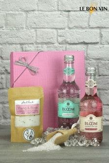 Bloom Gin & Tonic With Bath Salts Gift Set by Le Bon Vin