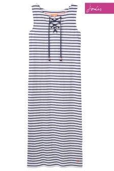 Joules Cream Stripe Anita Dress