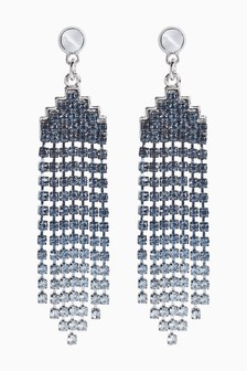 Ombre Sparkle Drop Earrings