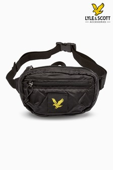 Lyle & Scott Black Utility Bag