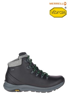 Merrell® Black Ontario Thermo Mid Waterproof Boots