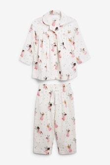 Woven Button Through Pyjamas (9mths-8yrs)