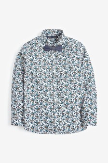 Long Sleeve Floral Shirt (3mths-7yrs)