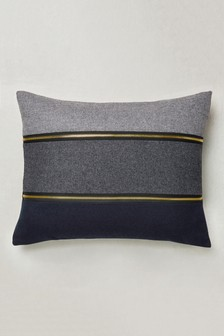 Ombre Zip Panel Cushion