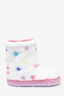 Fleece Slipper Boots (Younger)