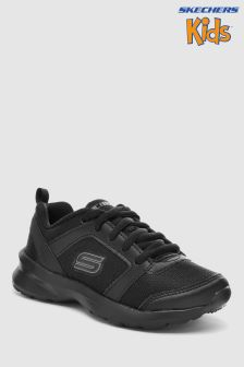 Skechers® Black Skech Stepz Speed Dial Lace-Up Sneaker
