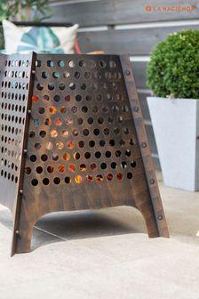 Osiris Large Steel Firepit by La Hacienda