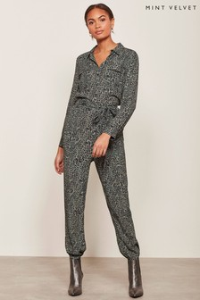 Mint Velvet Philippa Print Boilersuit