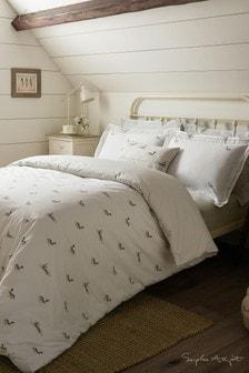 Sophie Allport Hares Cotton Duvet Cover and Pillowcase Set