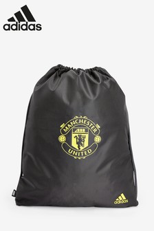 adidas Black Manchester United FC Gym Sack