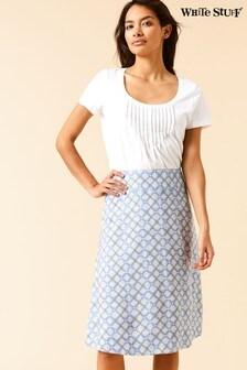 White Stuff Blue Alice Springs Reversible Skirt