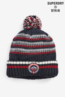 Superdry Black Woodruff Beanie