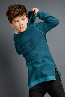 Ripple Knit Hoody (3-16yrs)