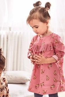 Robe à imprimé léopard (3 mois - 6 ans)