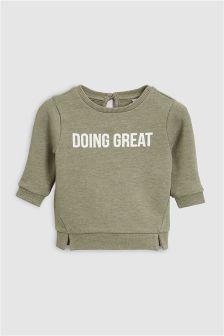 Slogan Sweat (0mths-2yrs)