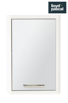 Lloyd Pascal White Gloss Wall Cabinet