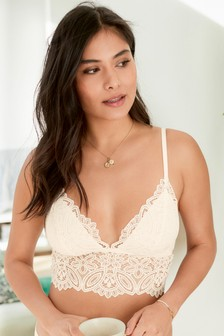 Daisy Non Padded Lace Bralette
