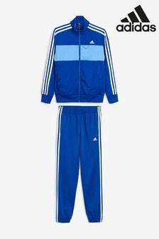 adidas Tiberio Trainingsanzug, marineblau/blau