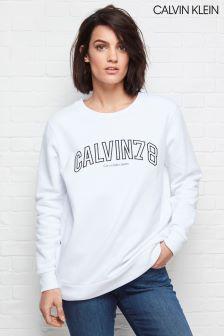 Calvin Klein White Core Fit 78 Sweatshirt