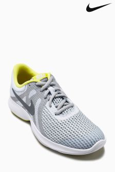 Nike Run Grey/Yellow Revolution